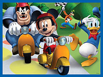 Mickey Mouse Clubhouse 4 in a Box Jigsaw screen shot 3