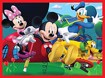 Mickey Mouse Clubhouse 4 in a Box Jigsaw screen shot 4