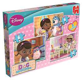 McStuffins Trio Puzzle Traditional Games