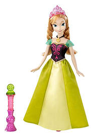 Disney Frozen Colour Change Feature Doll Anna Figurines and Sets