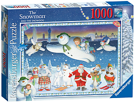 The Snowman 1000pc Traditional Games