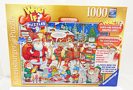 WHAT IF? Santa and Rudolph, 1000pc Traditional Games