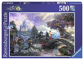Thomas Kinkade Disney Cinderella 500pc Traditional Games
