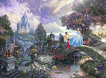 Thomas Kinkade Disney Cinderella 500pc screen shot 1