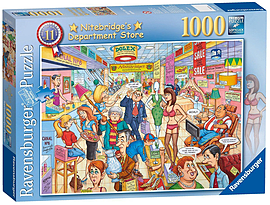 Best of British The Department Store 1000pc Traditional Games