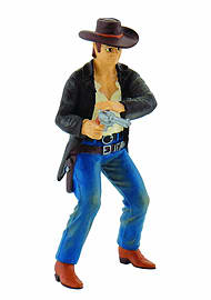 Cowboy with Revolver Figurines and Sets
