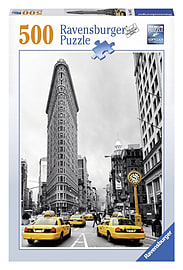 Ravensburger Puzzle - Flat Iron New York City (500pcs) (14487) Traditional Games