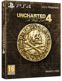 Uncharted 4: A Thief's End - Special Edition PlayStation 4 Cover Art