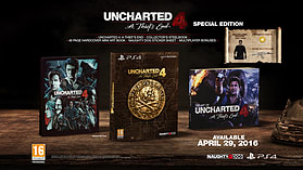 Uncharted 4: A Thief's End - Special Edition screen shot 1