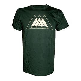 Destiny White Warlock Logo Extra Large T-shirt, Green Clothing