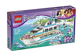 Lego Friends : Cruise Ship For Dolphins (41015) Blocks and Bricks