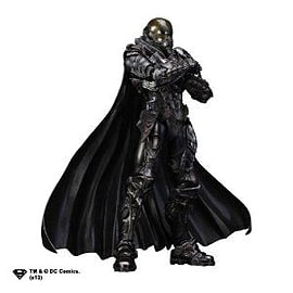 Man Of Steel Play Arts Kai General Zod Figurines and Sets