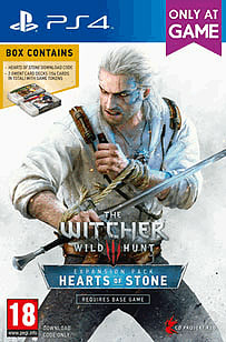 The Witcher 3: Hearts of Stone With Gwent Cards - Only at GAME PlayStation 4