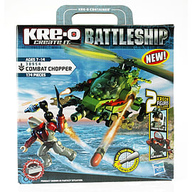 Kre-O Battleship Combat Chopper Figurines and Sets
