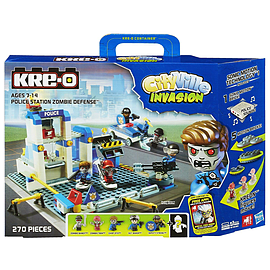 Kre-O CityVille Invasion Police Station Zombie Defense Set Figurines and Sets