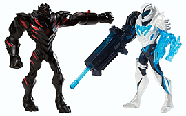 Max Steel Battle 2 Pack Max Steel V Dredd Figurines and Sets