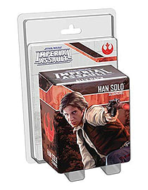 Star Wars Imperial Assault Han Solo Ally Pack Figurines and Sets