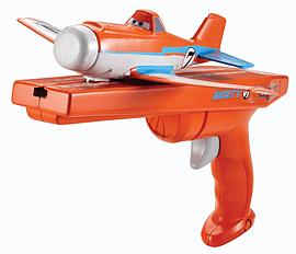 Disney Planes Runway Flyers - Dusty Crophopper (ORANGE) Figurines and Sets
