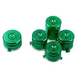 GREEN Aluminium Alloy Metal Bullet Buttons for XBOX ONE Controller XBOX ONE