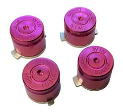 PURPLE Aluminium Alloy Metal Bullet Buttons for PS4 Controller PS4
