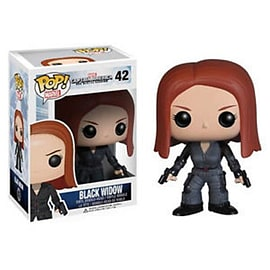 POP! Captain America 2 Winter Soldier Black Widow Vinyl Figure Figurines and Sets