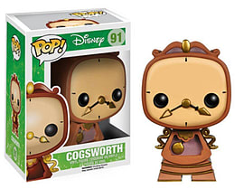 POP! Disney Cogsworth Vinyl Figure Figurines and Sets