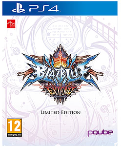 BlazBlue ChronoPhantasma Extend Limited Edition - Only at GAME PlayStation 4 Cover Art