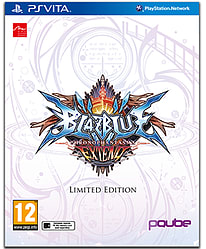 BlazBlue ChronoPhantasma Extend Limited Edition PS Vita Cover Art