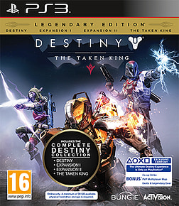 Destiny: The Taken King Legendary Edition PlayStation 3 Cover Art
