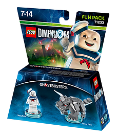Stay Puft Fun Pack - LEGO Dimensions - Ghostbusters LEGO Dimensions