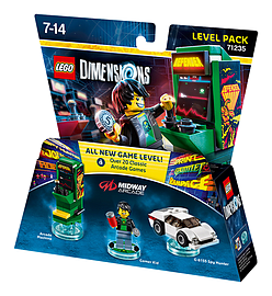 Midway Retro Gamer Level Pack - LEGO Dimensions - Midway Retro Gamer Lego Dimensions