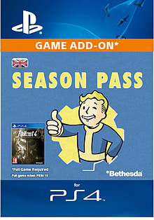 Fallout 4 Season Pass PlayStation 4