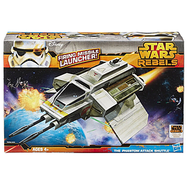 Star Wars Rebels Phantom Attack Shuttle Figurines and Sets