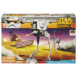 Star Wars Rebels AT-DP Walker Vehicle Figurines and Sets