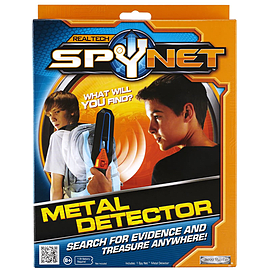 Real Tech Spy Net Metal Detector Figurines and Sets