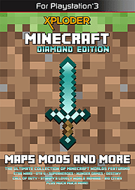 Xploder Minecraft Diamond Edition PS3 PlayStation 3 Cover Art