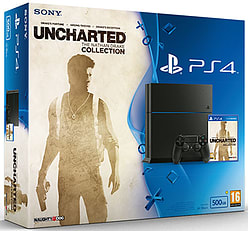 PlayStation 4 500GB Console With Uncharted: Nathan Drake Collection PlayStation 4