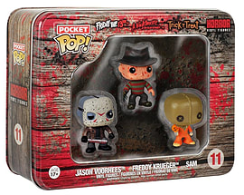 Funko - Pack 3 Figurines Horror Pocket Pop 4cm Figurines and Sets
