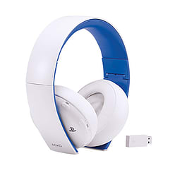PlayStation 4 Wireless Stereo Headset (White) Accessories