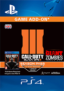 Call Of Duty Black Ops III Season Pass PlayStation 4