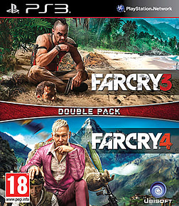 Far Cry 3 & Far Cry 4 Double Pack PlayStation 3 Cover Art