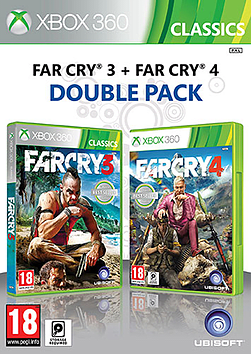 Far Cry 3 & Far Cry 4 Double Pack Xbox 360