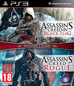 Assassin's Creed IV Black Flag & Assassin's Creed Rogue Double Pack PlayStation 3