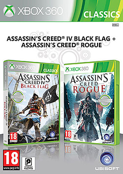 Assassin's Creed IV Black Flag & Assassin's Creed Rogue Double Pack Xbox 360