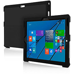 Incipio Feather Thin Case Cover with Stand for Microsoft Surface Pro 3 - Black Tablet