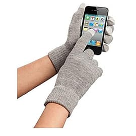 Orbyx Smart Touch Gloves - Grey Mobile phones