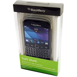 BlackBerry Soft Shell Durable Case For BlackBerry Bold 9790 - Clear Mobile phones