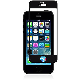 Moshi iVisor Glass Screen Protector For iPhone 5/5s/5c - Black Mobile phones