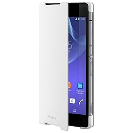 Sony Style Cover Stand Case for Xperia Z2 (White) Mobile phones