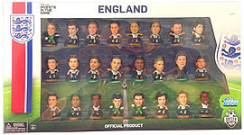 Soccerstarz - England Replica 2014 Tournament Squad Pack /figures Figurines and Sets